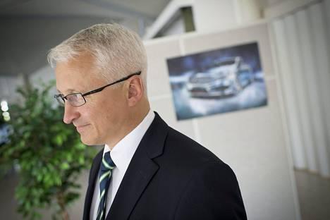 Valmet Automotiven toimitusjohtaja Ilpo Korhonen kesällä 2012.