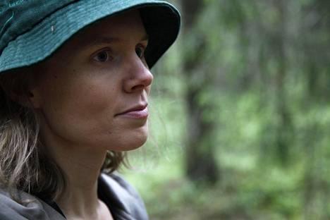 Anni Kytömäki on koulutukseltaan luontokartoittaja.