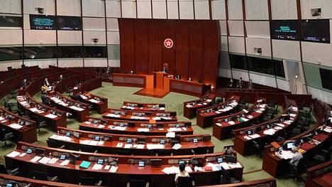 Hongkongin lainsäädäntöneuvosto päätti kiistellystä kansallislaululaista torstaina.