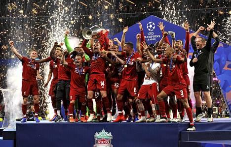 Viime keväänä Mestarien liiga päättyi Liverpoolin juhlintaan.