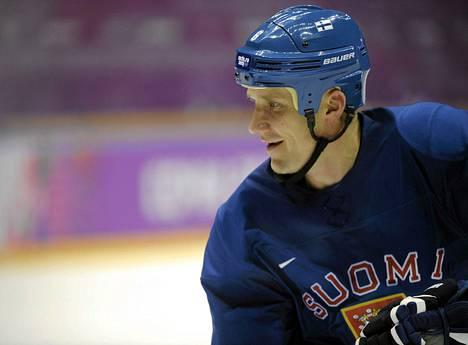 Sami Salo kuului olympiapronssia voittaneeseen Leijona-miehistöön viime talven kisoissa.