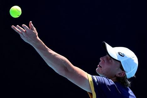Emil Ruusuvuori osallistui myös nelinpeliin Australian avoimessa turnauksessa.