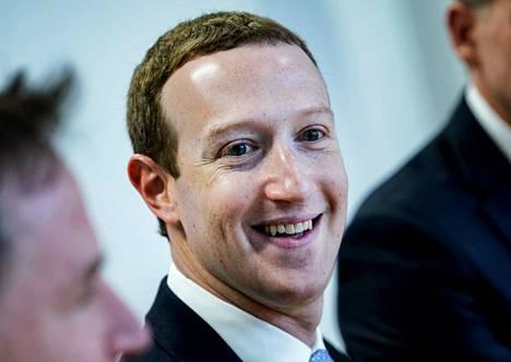 Facebookin perustaja ja toimitusjohtaja Mark Zuckerberg saapui tapaamiseen Brysseliin 17. helmikuuta 2020.