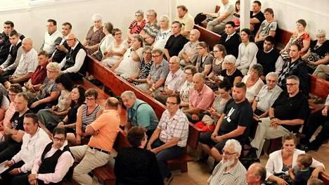 Yleisötilaisuuksia järjestettiin Kauhajoella Myötätuulta lakeudella -kesäjuhlilla kolmena päivänä.