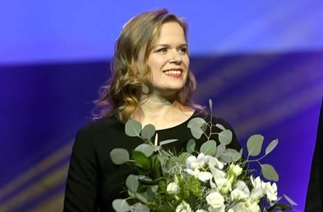 Selma Vilhunen sai vuoden 2017 Pohjoismaiden neuvoston elokuvapalkinnon.