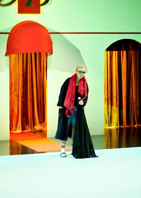 Iida Kuninkaan esittämä Norjan prinsessa Fortinbras on Hamlet All Inclusiven päähenkilö.