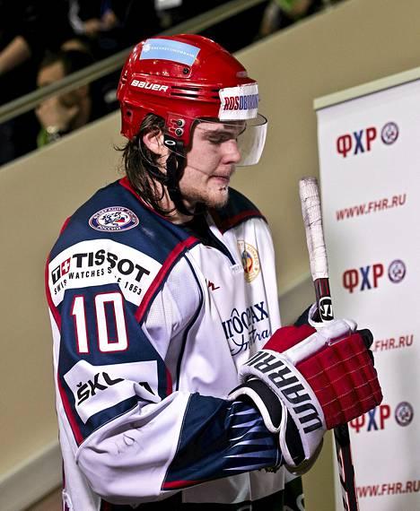 Viktor Tihonov junior vuonna 2012.