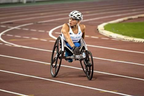 Amanda Kotaja onnistui Dohan MM-kisoissa mainiosti.