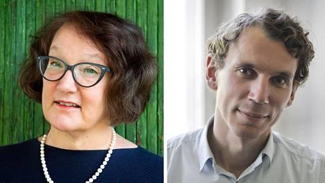 Monika Fagerholm ja Juha Itkonen.