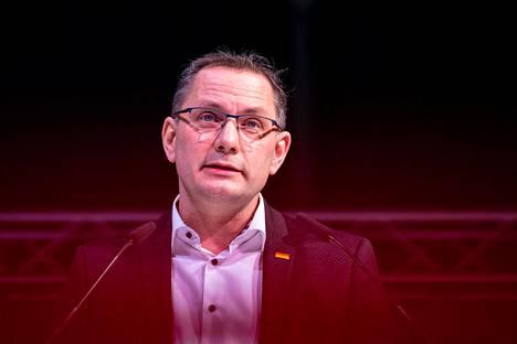 Tino Chrupalla on AfD:n kansanedustaja.