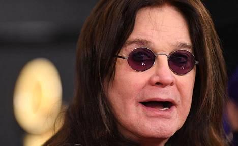 Laulaja Ozzy Osbourne Grammy-gaalassa 26. tammikuuta.