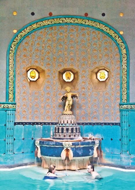 St. Gellertin kylpylä on Budapestin maineikkaimpia.