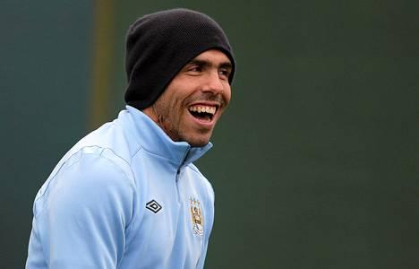 Manchester Cityn Carlos Tévez ei saa ajaa autolla vähään aikaan.