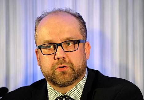 AKT:n puheenjohtaja Marko Piirainen