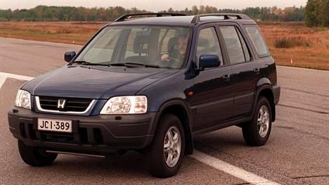 Honda CR-V -crossoverin ensimmäisen sukupolven mallia valmistettiin vuosina 1996-2001.