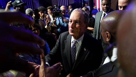 Demokraattien presidenttiehdokas Michael Bloomberg tapasi kannattajiaan Texasin Houstonissa viime viikolla. Keskiviikkona hän kohtaa kilpakumppaninsa ensimmäistä kertaa vaaliväittelyssä.