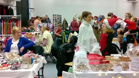Oulunkylässä pidettiin viime viikonloppuna Marttojen myyjäiset.