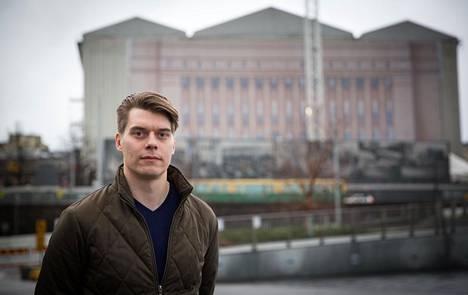Uberin maajohtaja Joel Järvinen.