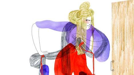 Ennen lapsia kuvittelin, että olisin kasvattajana tiukoissa tilanteissa napakka mutta rauhallinen. Käytäntö on usein toinen, Johanna Tikkanen kirjoittaa.
