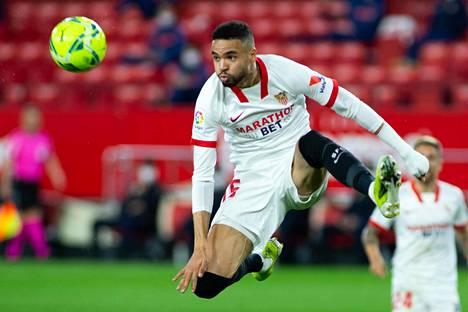 Youssef En-Nesyri on tehnyt Sevillalle 17 maalia.