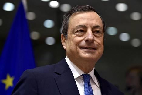 Euroopan keskuspankin pääjohtaja Mario Draghi