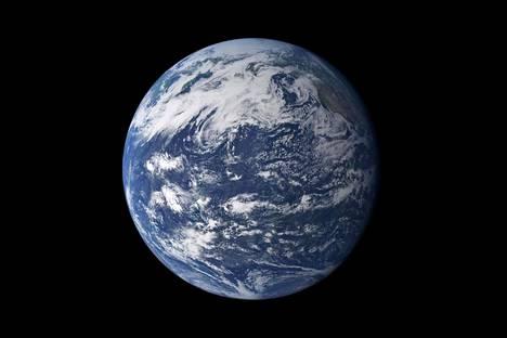 Maapallosta on nykyisinkin 75 prosenttia veden ja jään peitossa.