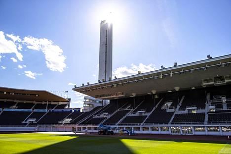 Helsingin Olympiastadion toimii ensi talvena kuukauden hiihdon näyttämönä.