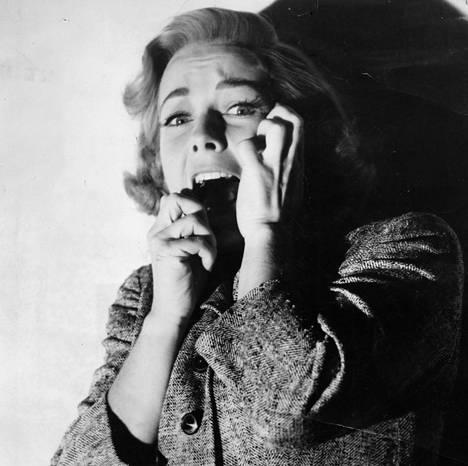 Vera Miles Hitchcockin elokuvassa Psyko.