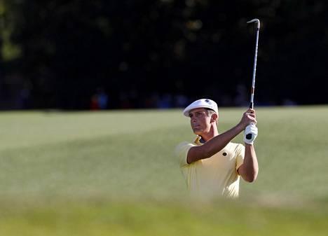 Bryson DeChambeau on pelannut mainiosti uransa ensimmäisessä Mastersissa.