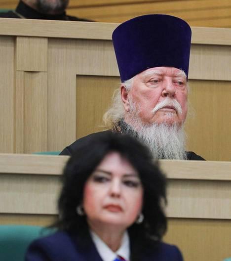 Dimitri Smirnov osallistui Venäjän duuman ylähuoneen istuntoon tammikuun lopussa.