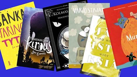 Näistä ehdokkaista yksi voittaa lasten- ja nuortenkirjallisuuden Finlandia-palkinnon, joka on arvoltaan 30 000 euroa.