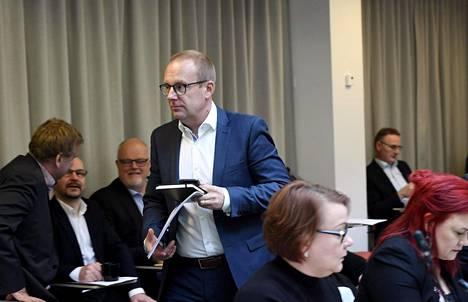 Palkansaajajärjestö SAK keskusteli perjantaina hallituksen ehdotuksesta puheenjohtaja Jarkko Elorannan johdolla.