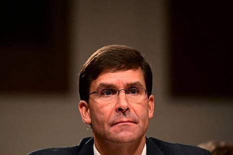 Maavoimaministeri Mark Esper on valittu Yhdysvaltain uudeksi puolustusministeriksi. Kuva on otettu heinäkuun 16. päivä 2019.