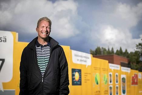 Mika Anttonen on tyytyväinen, että Kalervo Kummolalle on ilmoittautunut jo kaksi seuraajaehdokasta, Pekka Soini ja Marko Sjöblom. Kuva heinäkuulta.