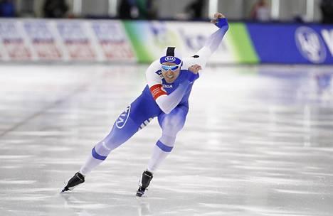 Mika Poutala nappasi EM-kisoista hopean sekä henkilökohtaiselta 500 metriltä että joukkuesprintistä.