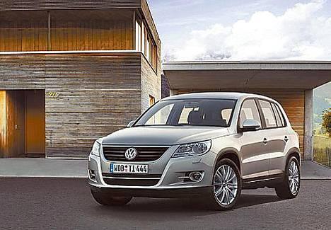 VW Tiguan on valmis julkisuuteen