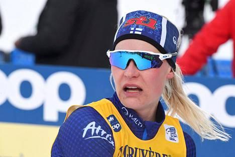 Anne Kyllönen sijoittui Toblachissa 17:nneksi.