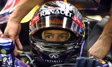 Sebastian Vettel on päässyt tällä kaudella vain kahdesti palkintokorokkeelle.