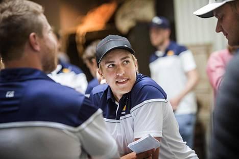 Teuvo Teräväinen oli viime syksynä mukana Suomen World Cup -joukkueessa.