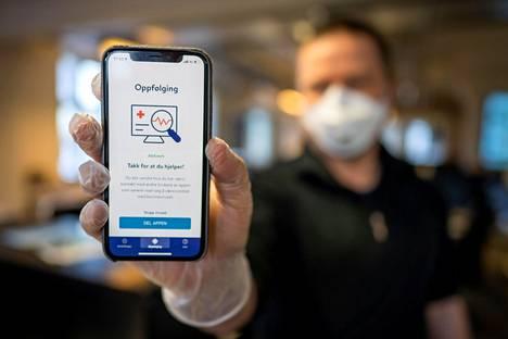 Norjan jäljityssovellus kertoo terveysviranomaisille koronaviruksen leviämisestä sekä hälyttää käyttäjille, jos he ovat olleet lähellä tartunnan saanutta henkilöä.