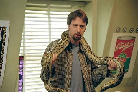 Koomikko Tom Green tunnetaan Suomessa muun muassa roolistaan räävittömässä Road Trip -komediassa vuodelta 2000.