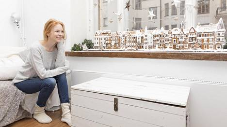 Huvilakadun tekeminen maksoi Jenny Rostainin laskelmien mukaan valoineen päivineen vain 32 euroa.