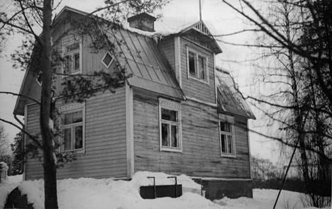 Valokuva Villa Tallbosta on 1950-luvulta.