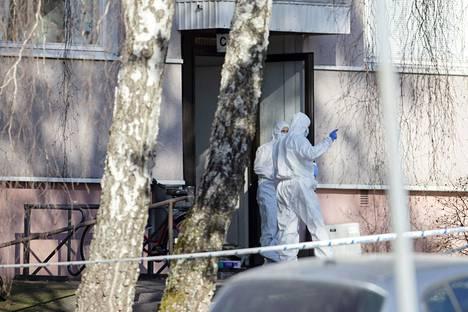 Turun Pernossa tutkittiin epäiltyjä henkirikoksia ja henkirikoksen yrityksiä lauantaina 3. huhtikuuta.