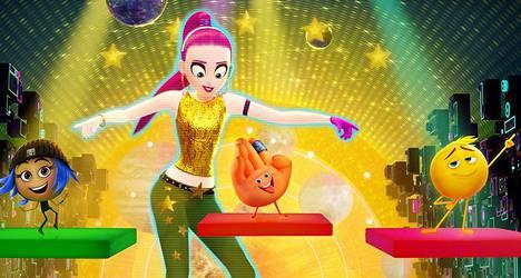 Emoji-elokuvassa pelataan muun muassa tanssipeliä, joka löytyy oikeastikin sovelluskaupoista.