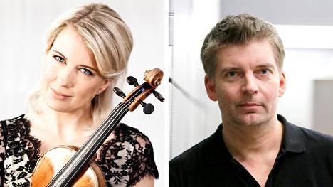 Elina Vähälä ja Matthias Pintscher.