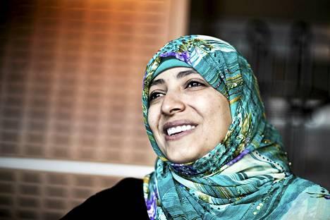 Nobelisti Tawakkul Karman käännytettiin Egyptin rajalta.