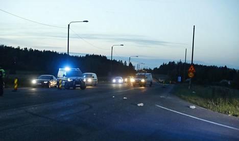 Poliisi otti veljekset kiinni takaa-ajon päätteeksi Pirkanmaalla vuosi sitten elokuussa.
