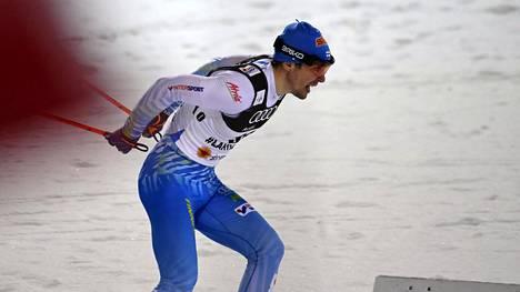 Ristomatti Hakola oli ainoa finaaleihin asti päässyt suomalainen.