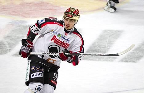 Ässien Tomas Zaborsky on SM-liigan ykköspelaaja.